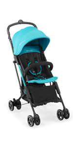 Kinderkraft Silla de Paseo Bebé INDY, Carrito, Plegable, Impermeable, Azul: Amazon.es: Bebé