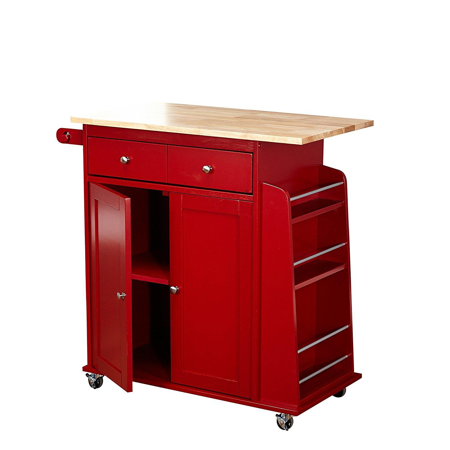 Rolling Kitchen Cabinets: Amazon.com: Target Marketing Systems Sonoma Collection Two