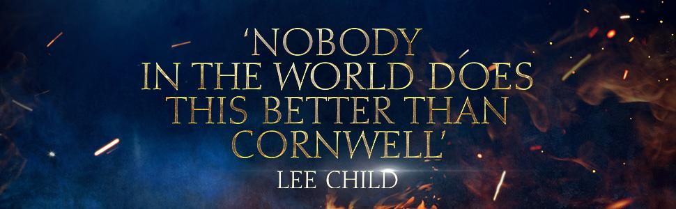 bernard cornwell, sunday times bestseller, sword of kings, the last kingdom, netflix, gift for dad