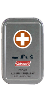 Mini First Aid Kit Tin by Coleman
