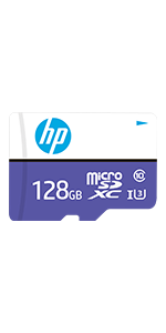 HP 128GB sx330 Class 10 U3 SD Flash Memory Card