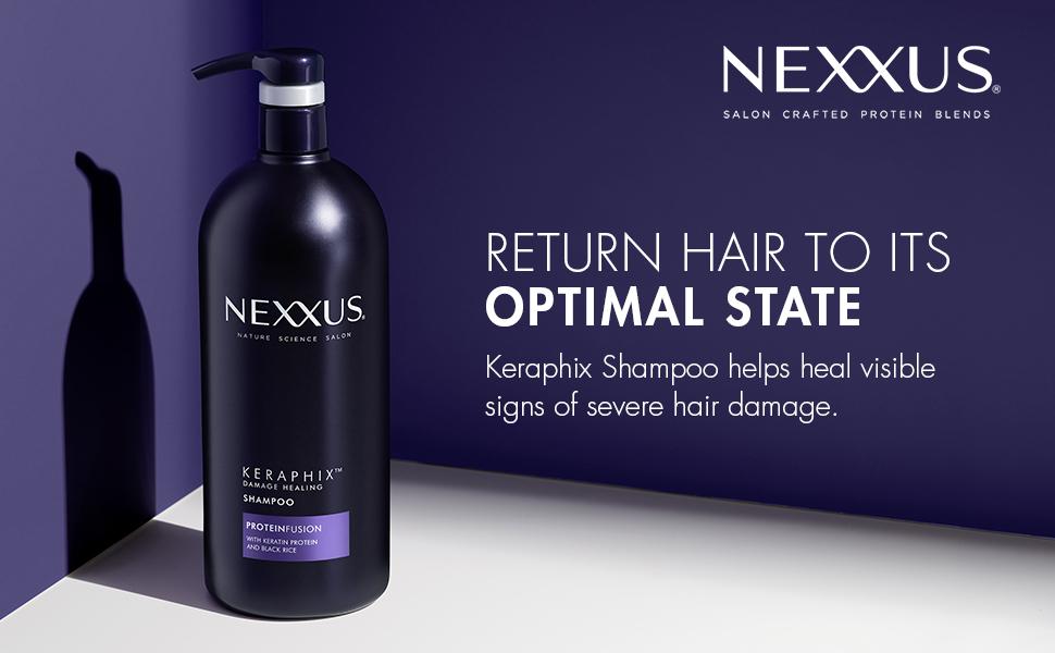 nexxus, keraphix, shampoo