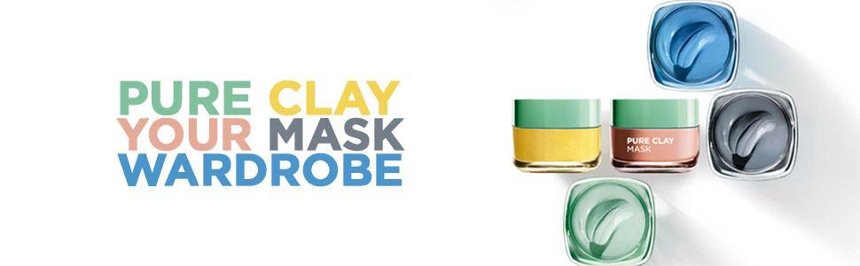 mask, clay masks, face masks, multi-masking, pure clay, black mask, charcoal mask, mask moments