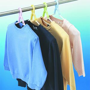 ハンガー 洗濯ハンガー スライド パット付き 肩幅