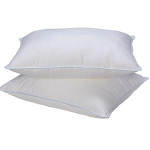 Standard sized down alternative pillows