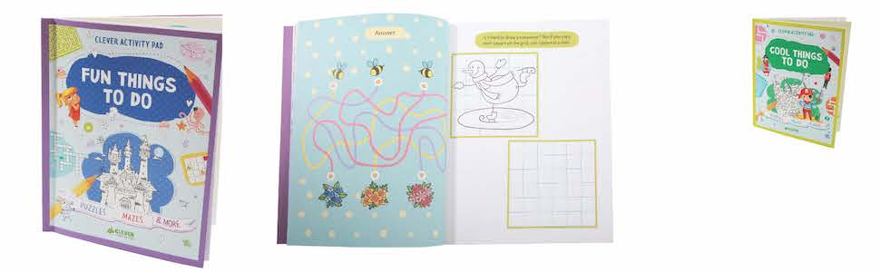 Cool Things To Do Puzzles Mazes /& More