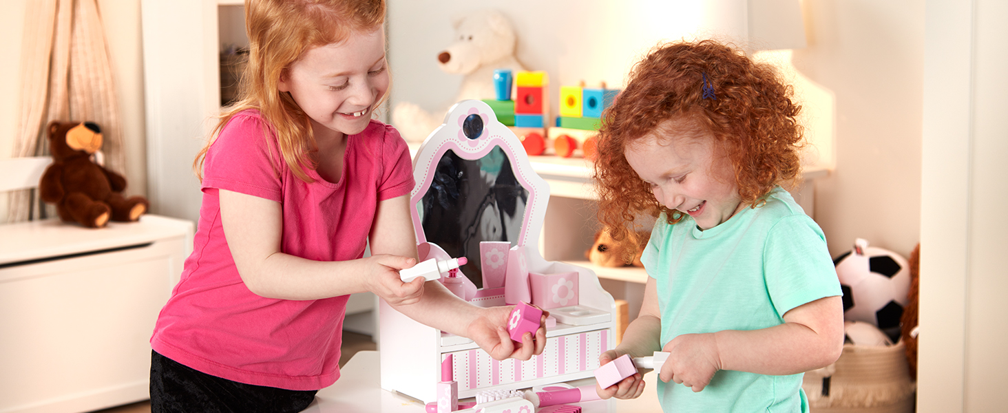 Enthusiastic Magic Mirror Series Princess Cosmetics Set Toy Makeup Kits Girl Ornaments Childrens Makeup Toy Set Cosmetics Pretend Play Toys Pretend Play Beauty & Fashion Toys