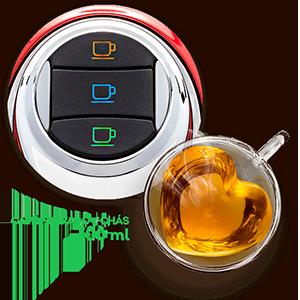 3 Corações - Cafeteira Modo TRES - Café filtrado e chá