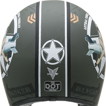 X380 Dot Certified Moped Helmet