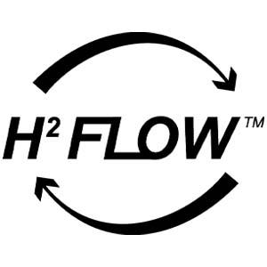 H2-stroomventielsysteem voor helder hansen.
