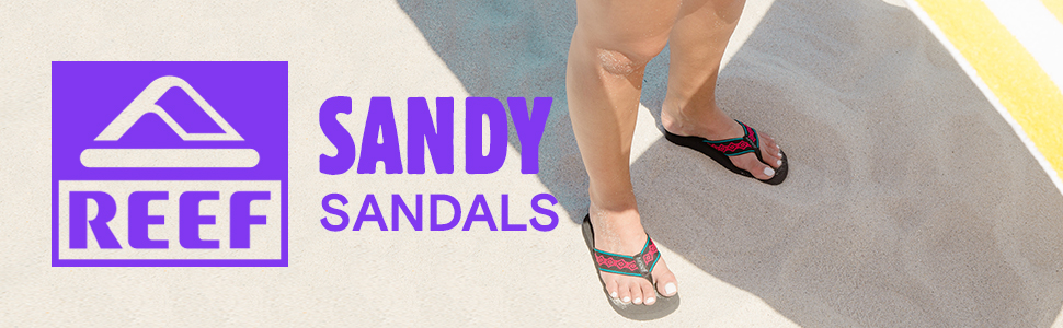 20a40a73d8f5f0 REEF Sandy Women s Beach Sandals