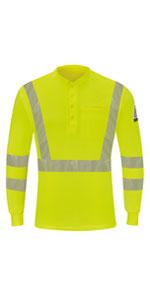 Bulwark FR flame resistant mens shirts hi vis visibility work shirt