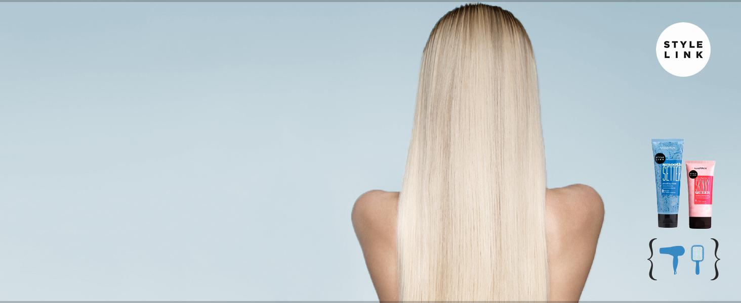 matrix styling styler styling product paul mitchell blow heat protection hair spray anti frizz salon