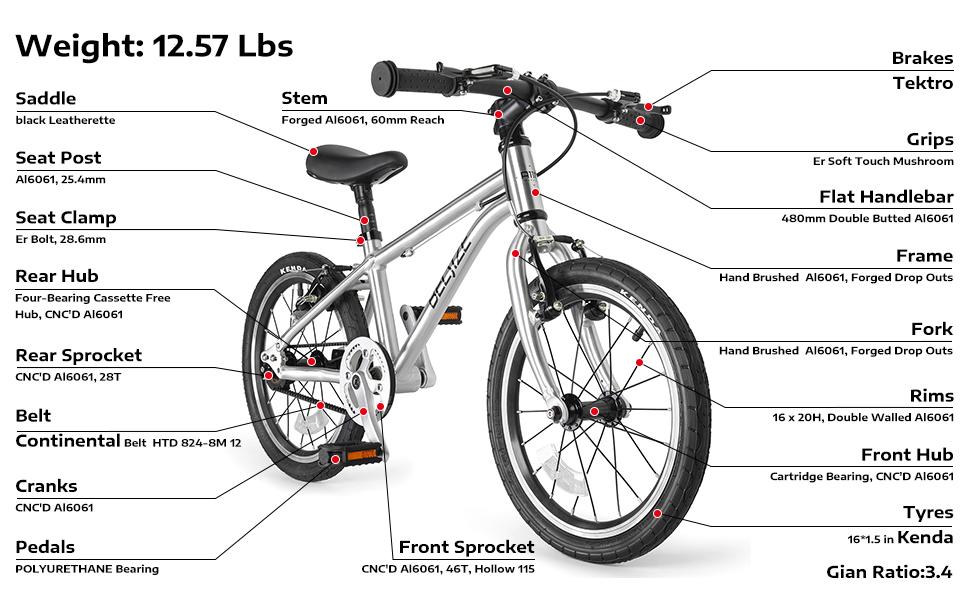 Belsize 16 inch bike