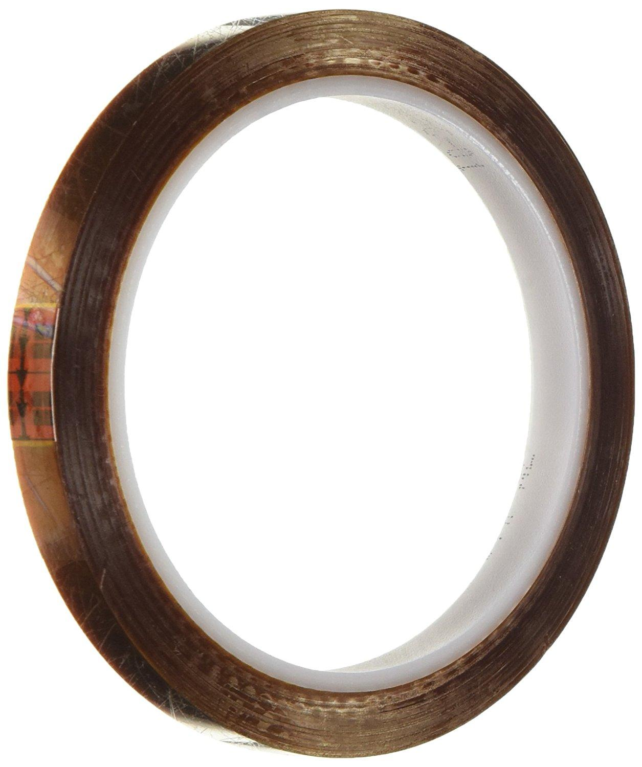 3M 1205 CIRCLE-0.375-2000 Pack of 2000 Maximum Temperature: 311 degrees F 3M 1205 CIRCLE-0.375-2000 Amber Polyimide//Kapton Film Tape with Acrylic Adhesive