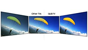 Samsung QN55Q7F Flat 4K Ultra HD Smart QLED TV picture perfect view from every seat