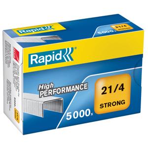 10538731 Capacit/é 15 Feuilles Rapid Pince Agrafeuse Retro S51 Pour les Agrafes 21//4mm M/étal Noir