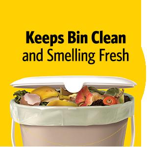 compost, compostable bag, organic bags, food waste, food waste bag, glad compostable
