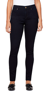 bandolino blu mandie skinny stretch denim jeans