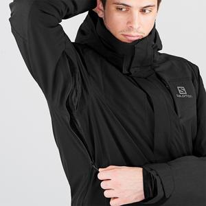 SALOMON Stormstrong Jkt M Chaquet/ón con capucha para esqu/í Mezcla de sint/éticos Hombre