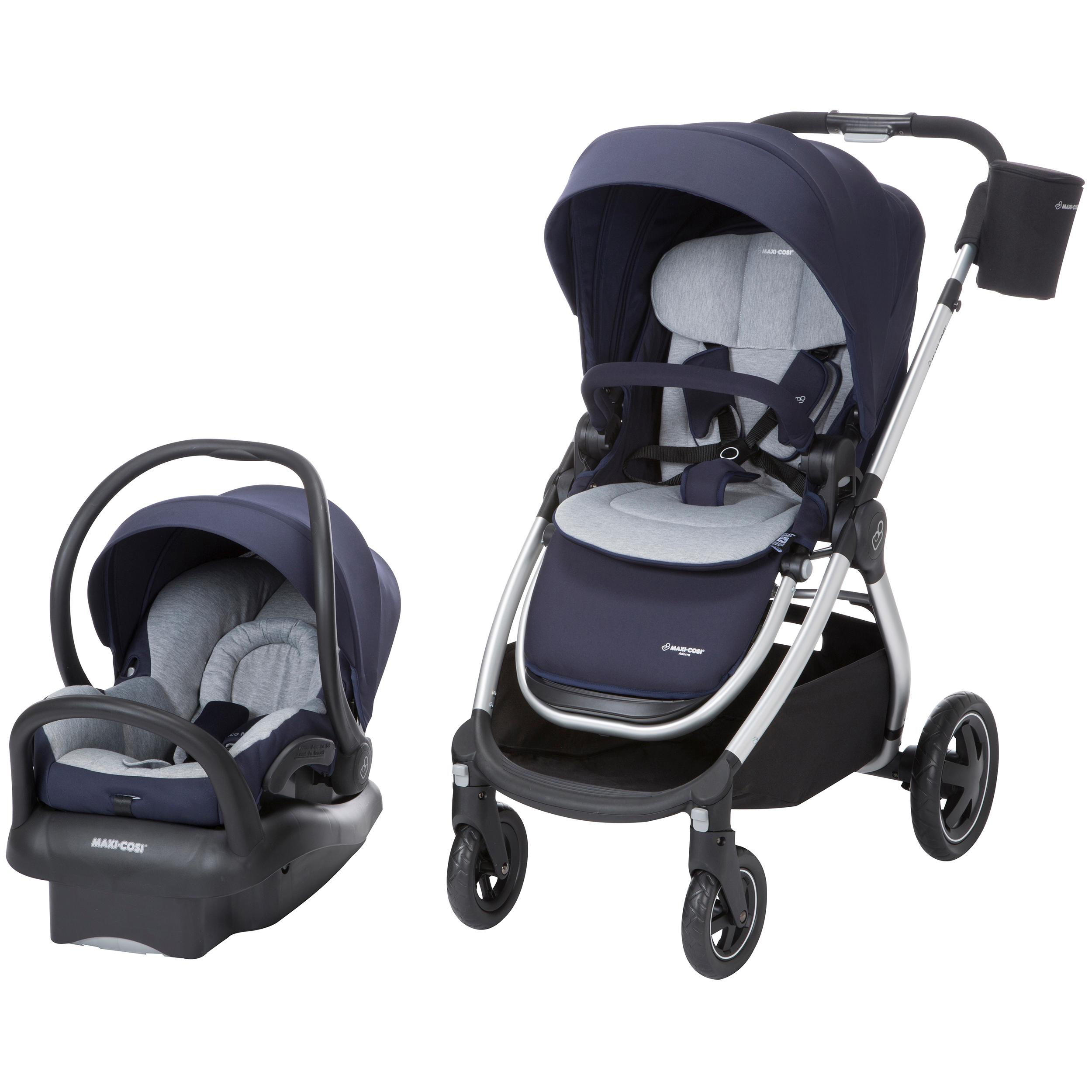 maxi cosi adorra modular 5 in 1 travel system with mico max 30 infant car seat. Black Bedroom Furniture Sets. Home Design Ideas
