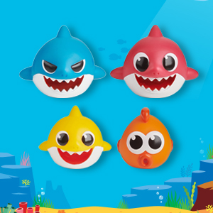 Baby Shark Family Bath Toy