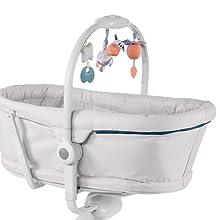 color azul turquesa hamaca regulable en altura Aquarelle trona y silla Chicco Baby Hug 4en1 Sistema multifunci/ón: mois/és