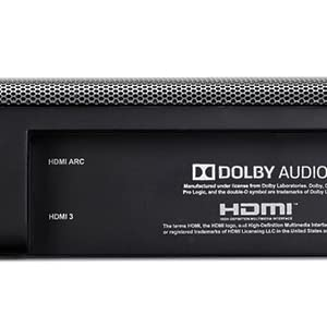 True 4K connectivity with 3 HDMI IN/ 1 HDMI out (ARC)