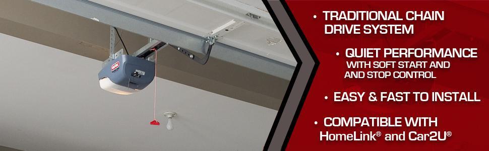 Genie Chainmax 1000 Garage Door Opener Durable Chain
