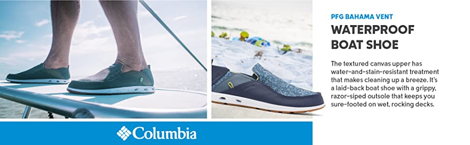 Columbia Men's PFG Bahama Vent Boat Shoes
