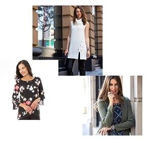 women's clothing; women's top; plus size top; plus size skirt; women's skirt; women's pants