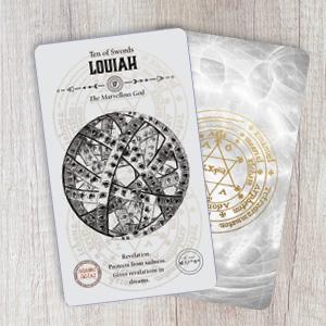 tarot; angels; oracle; rockpool; new age; guardian; occult; kabbalah; Shem HaMephorash; louiah
