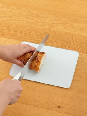 強化ガラス製 キッチントッププレート 22.6×16.2㎝