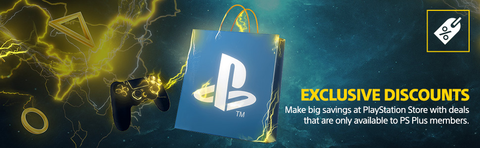 playstation plus, ps4, playstation store, exclusive discounts