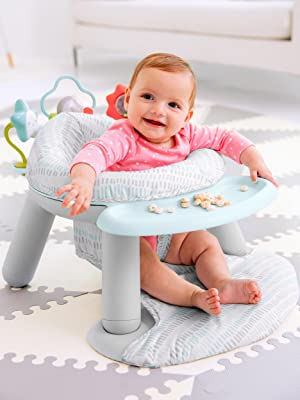 Amazon Com Skip Hop Silver Lining Cloud Baby Chair 2 In 1 Sit