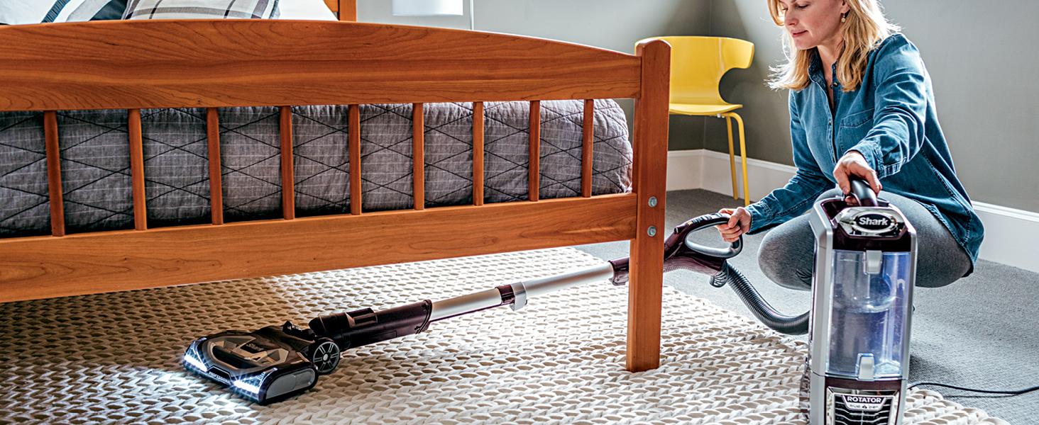 clean under furniture, versatile, lift away pod, lift away vacuum