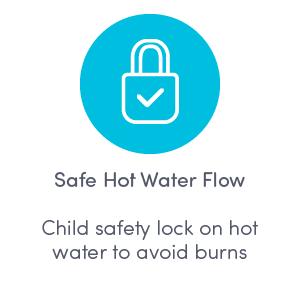 Safe Hot Water Flow