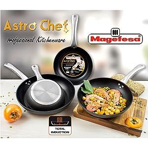 Sartenes Astro Chef Magefesa