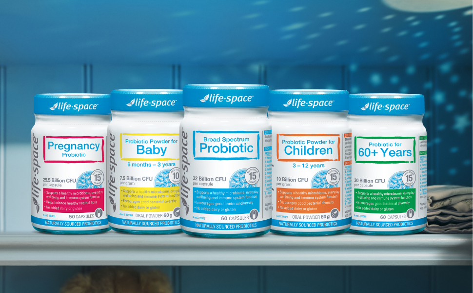 probiotics for every life stage