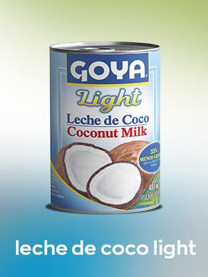 leche de coco light