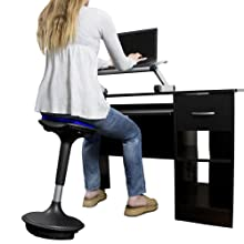 adjustable height active sitting balance stool chair