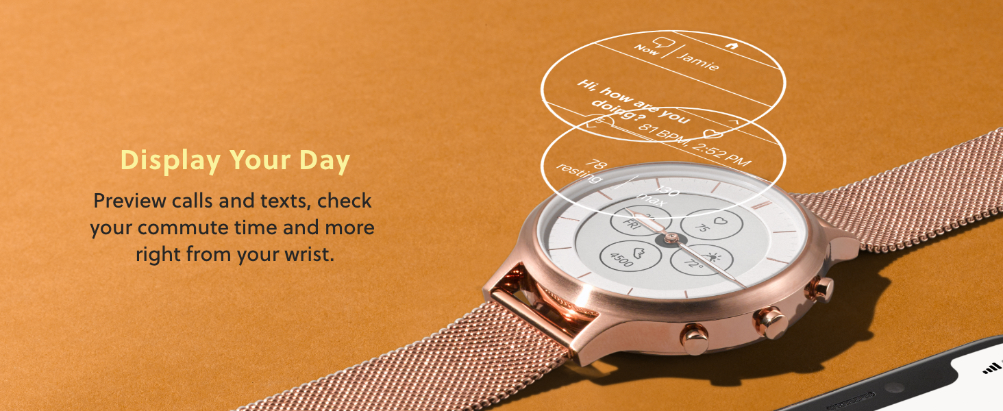 Fossil Smart watch hybrid HR