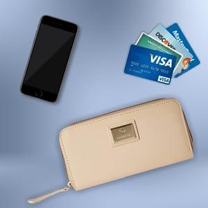 Caprese Kiko Women's Wallet (Pink)