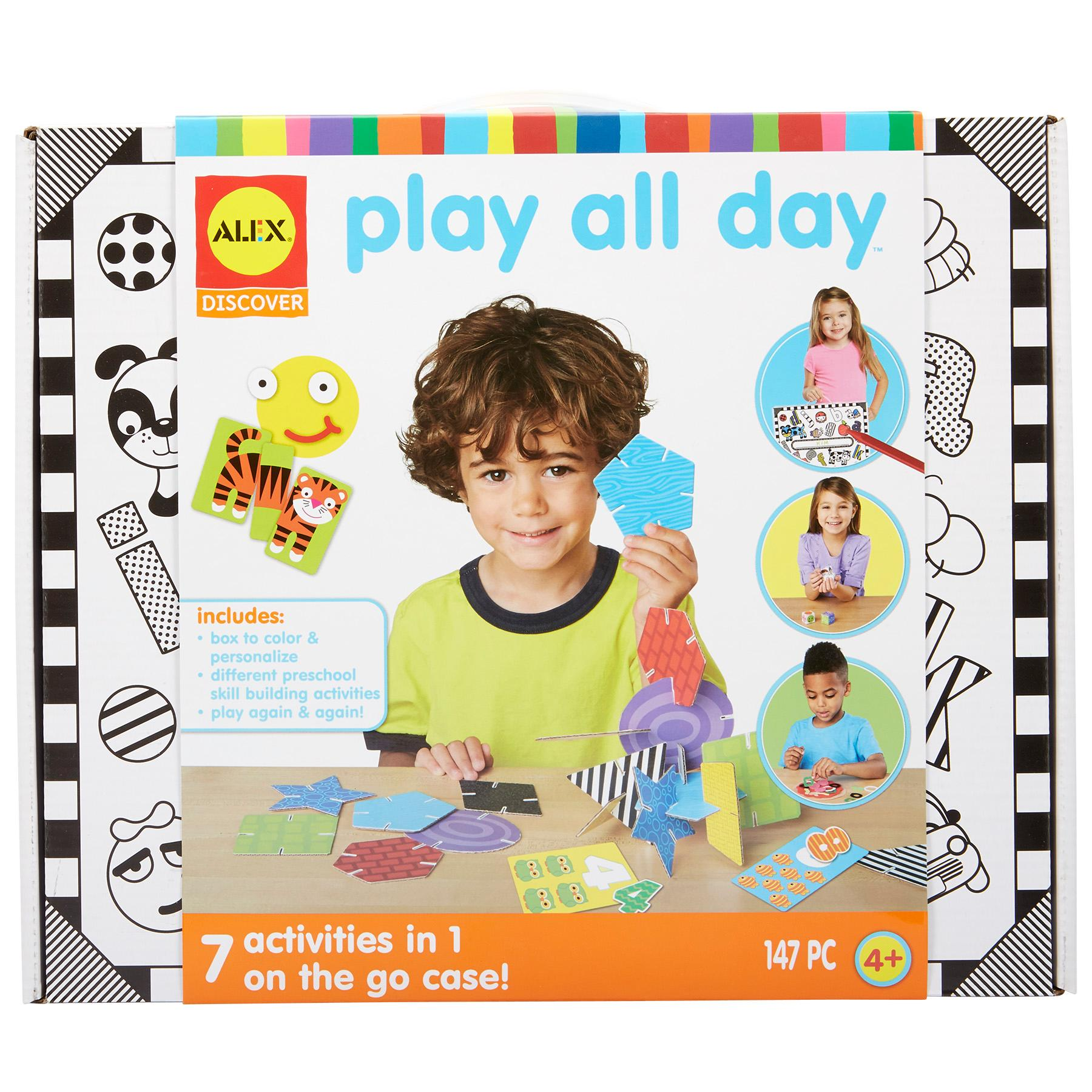 Amazon Com Alex Discover Play All Day Learning Kit Toys Games