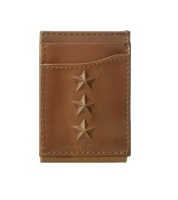 mens wallet tommy hilfiger money clip passecas leather