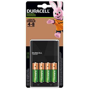 Cargador baterías duracell