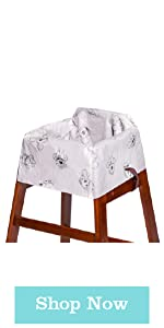 Disney Baby by J.L. Childress Disposable Restaurant High Chair Cover
