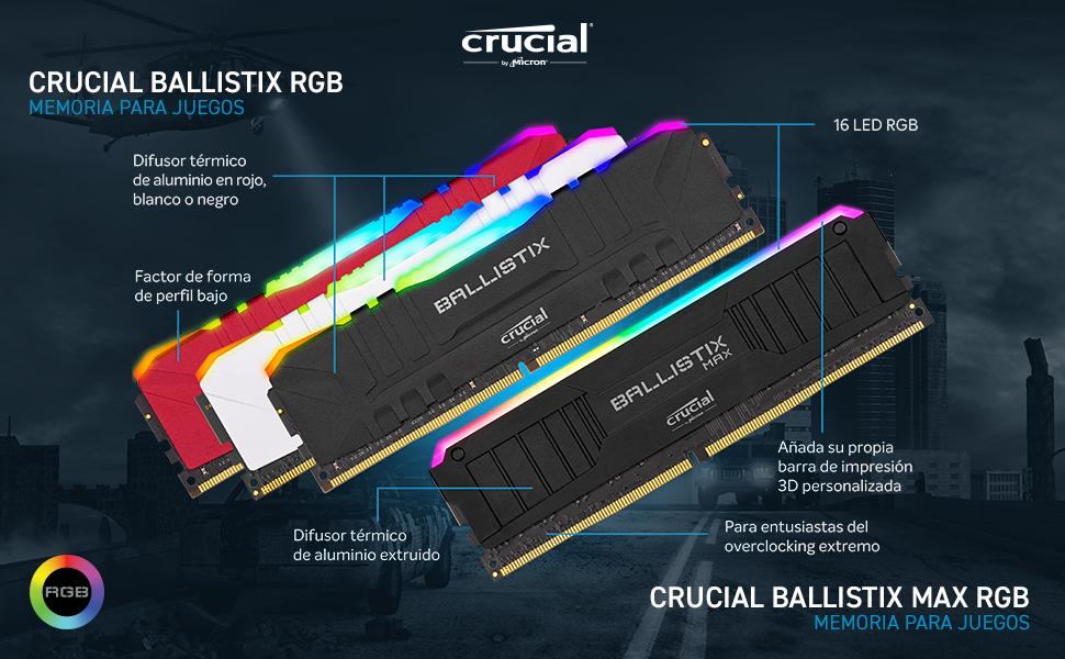 Crucial Ballistix MAX RGB DDR4