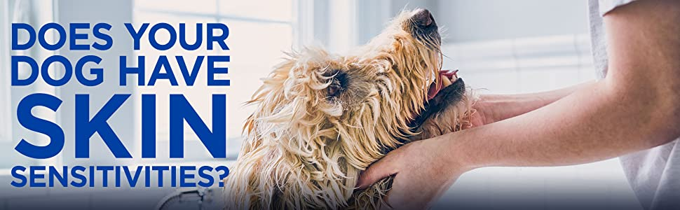Does your dog have skin sensitivities