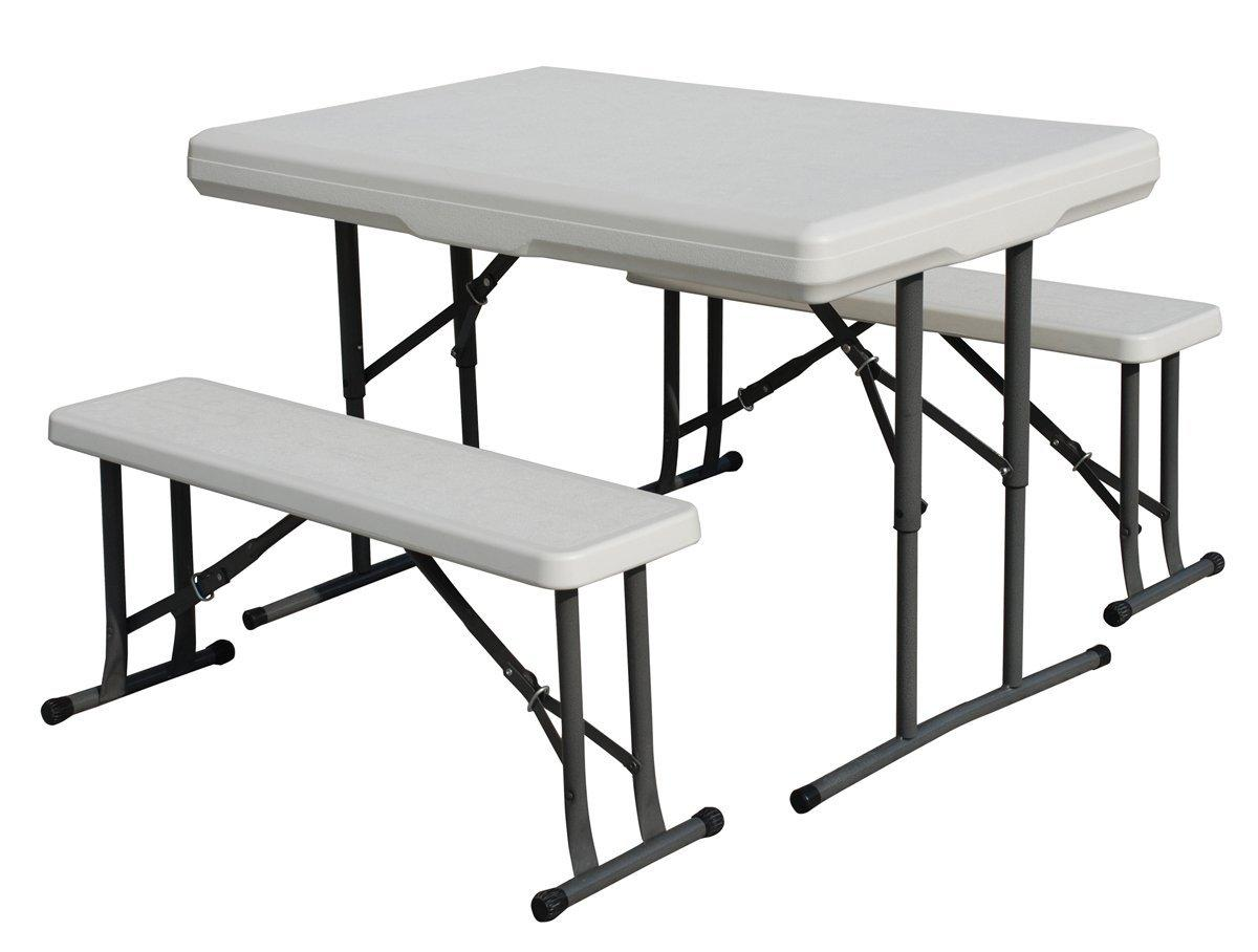 Amazon Com Stansport Heavy Duty Picnic Table And Bench